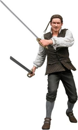 Will Turner Pirates Of The Caribbean - NECA Pirates of the Caribbean Curse of the Black Pearl Series 2 Action Figure Will Turner