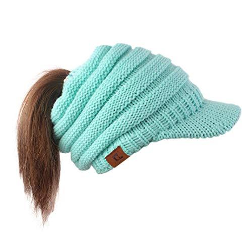 URIBAKE Women Hat Baggy Warm Crochet Winter Wool Knit Ski Beanie Skull Slouchy Caps from URIBAKE