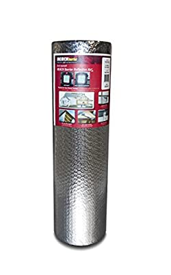 Reach Barrier DD24025 Air Double Reflective Polyethylene Insulation Roll, 2-Feet by 25-Feet