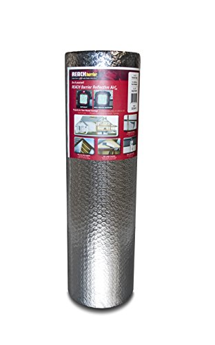 Reach Barrier DD24025 Air Double Reflective Polyethylene Insulation Roll, 2-Feet by 25-Feet