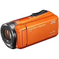 Victor Everio (Everio) HD memory video camera 32GB Orange GZ-R300-D