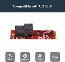 Amazon.com: startech.com 2 x tarjeta controladora SSD M.2 ...