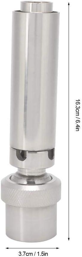 Fditt 1 DN25 D/üse f/ür Springbrunnen aus Edelstahl Wasserspr/üher Spritzwasser Display Schaum