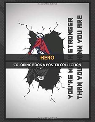 Coloring Book & Poster Collection: Hero Nepals First Hero Anime & Manga: Amazon.es: Coloring, HeroeO, Coloring, HeroeO: Libros en idiomas extranjeros