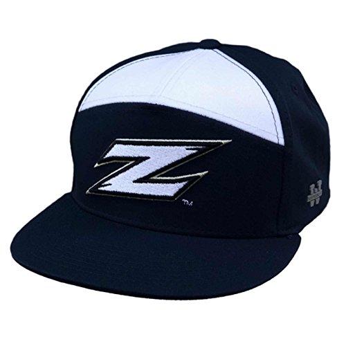 University of Akron UA Zips UAKRON NCAA 7 Panel Flat Bill Snapback Baseball Cap Hat Akron Zips Ncaa Baseball