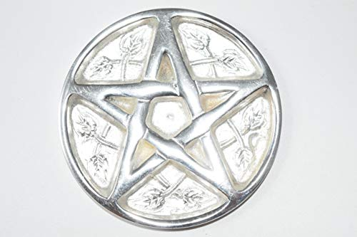 Nature's Enlightenment Star Pentacle Silver Plated Solid Brass 3