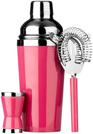 Premier Housewares Cocktail Set, Hot Pink by Premier Housewares