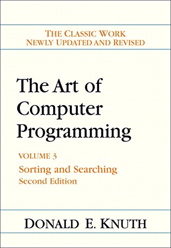Download The Art of Computer Programming: Volume 3, The: Sorting and Searching (2nd Edition) Pdf