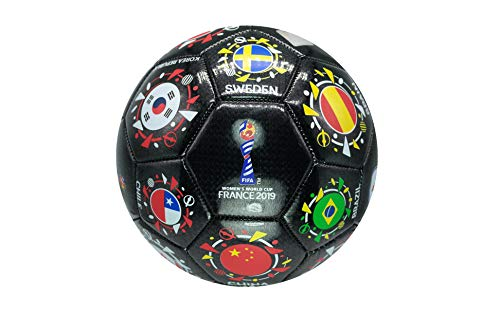 - Icon Sports FIFA 2019 Women's World Cup National Orbit Size 5 Soccer Ball