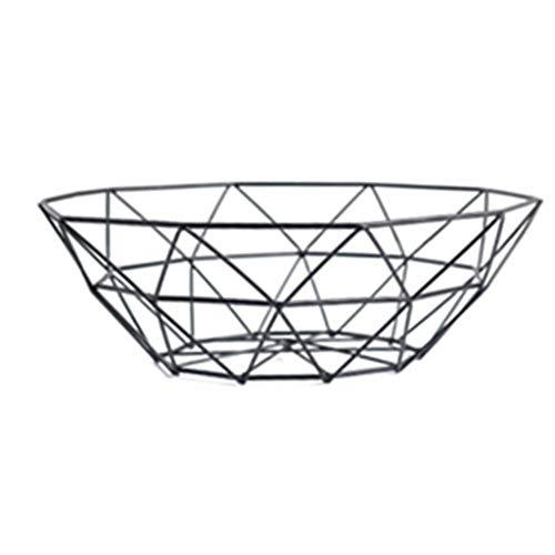 Creative Fruit Plate, Living Room Coffee Table Wrought Iron Snack Fruit Basket Desktop Storage (Size : 278CM)