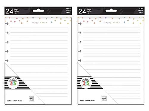 me & My Big Ideas The Happy Planner Bundle: Medium/Classic Fill Paper Foil Happy Notes (Set of 2)