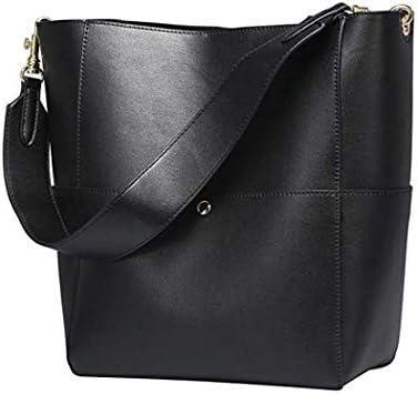 2個セット革レディースショルダーバッグ、磁気バックルバケットバッグハンドバッグ女性ワイルドメッセンジャーバッグ、女性ファッションマザー娘バッグを含む