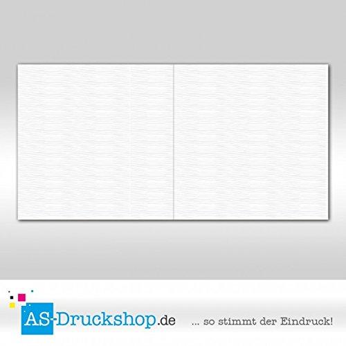 Faltkarte - Hochweiß - mit mit mit Strukur 50 Stück Quadratisch 155 x 155 mm B0794ZD6VM | Kompletter Spezifikationsbereich  19b9ab