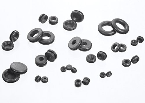 jawaytool rubber grommets kit  u0026 plug wire ring assortment
