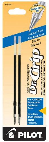 Pilot 77228 Blue Medium Point Ballpoint Ink Refill For Retra
