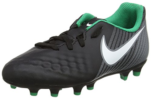 Nike Unisex-Kinder Jr Magista Ola Ii Fg Fußballschuhe Schwarz (Black/white/dark Grey)