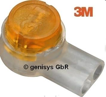 original 3m Conector de cable individual Scotchlok uy2, 100 pieza, Relleno de grasa,