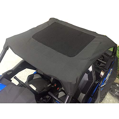 (RZR 900 1000 Soft Canvas Roof Top for Polaris RZR 900 XP 1000 Turbo 900 S Trail UTV Soft Top 2 Seater)