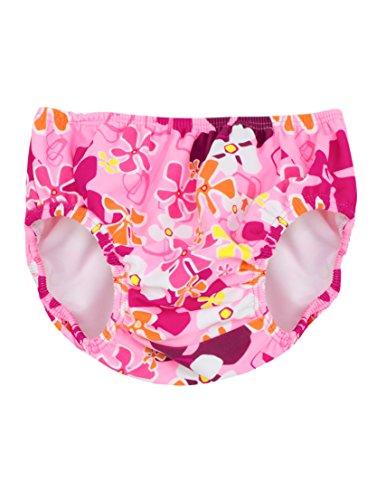 Tuga Girls Reusable Swim Diaper, Misty Pink, 3T