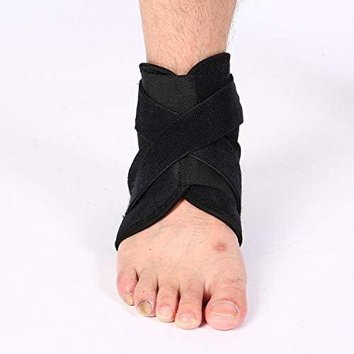 XZP バドミントンスポーツ保護ギアバスケットボールフットボールスプレー圧力ベルト保護足首腕ガード女性のための調節可能なフットガード男性