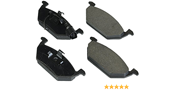 Disc Brake Pad Set-C-TEK Metallic Brake Pads Rear Centric 102.12260