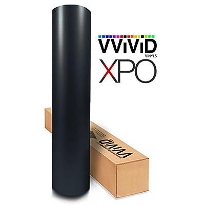 VViViD Black Matte Automotive Vinyl Wrap Film w/ 3M Toolkit (1ft x 5ft): Automotive