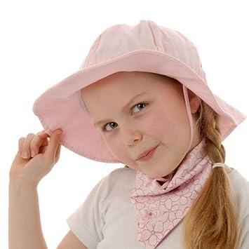 a93fffe338c Amazon.com  Twinklebelle Baby Sun Hat With Chin Strap