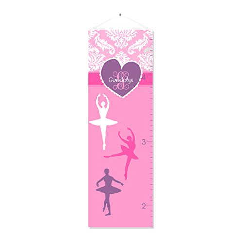 (Ballerina Personalized Growth Chart )