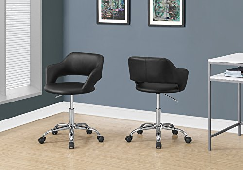 Monarch Specialties I 7298 Office Chair, Black