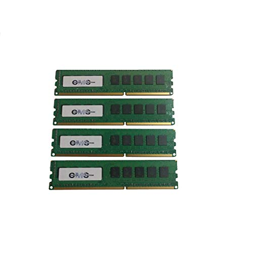 (32Gb (4X8Gb) Memory Compatible with Dell Poweredge R220 Ecc Non Buff For Servers Only By CMS B90)