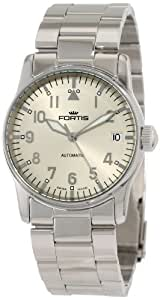 Fortis Women's 621.10.12 M Flieger Automatic Date Stainless Steel Band Watch