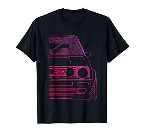 Mens Roughed Modified MK2 GT-i 16v Racing T-Shirt Large ()