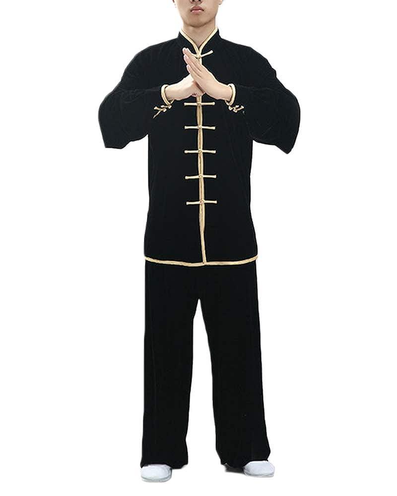 Uniforme De Tai Chi Unisex Traje De Kung Fu Chino Tradicional Qi Gong Artes Marciales Wing Chun Shaolin
