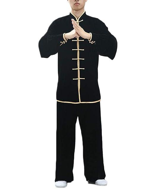 PengGengA Uniforme De Tai Chi Unisex Traje De Kung Fu Chino ...