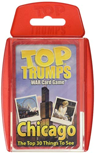 Chicago '30 things to see and do' Top Trumps Card Game
