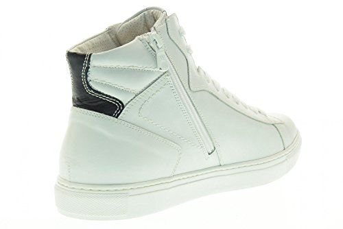 NERO GIARDINI scarpe uomo sneakers alte P704932U/707 Bianco