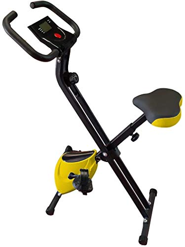 🥇 HANKING PLANET Bicicleta estatica Plegable de Resistencia magnética