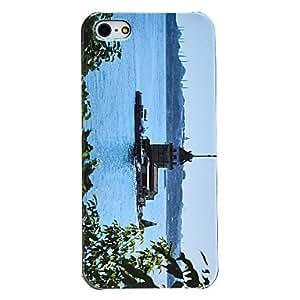 GDW caso duro del patrón del lago de 5/5s iphone