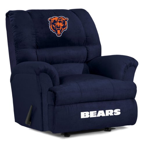 UPC 720801401195, Imperial Officially Licensed NFL Furniture: Big Daddy Microfiber Rocker Recliner, Chicago Bears