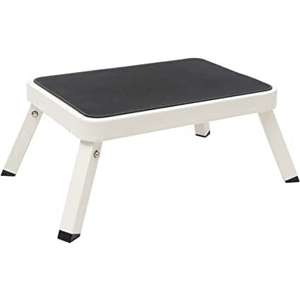Prime Amazon Com Pm Tables Lightweight Single Step Stool Folding Onthecornerstone Fun Painted Chair Ideas Images Onthecornerstoneorg