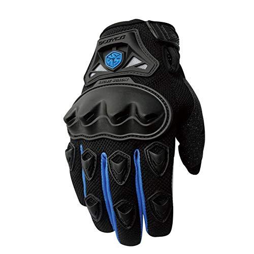 Course Moto Motocross Protection Route Gants Blue D'équitation Complets Hors De Glovescoa Équipement Professionnel YwAAq