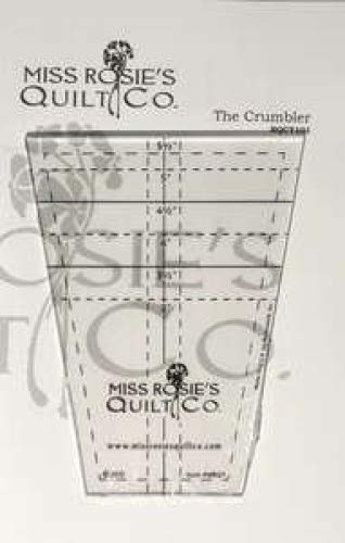 Quilting Template Ruler by Miss Rosie's Quilt Co ~ 3 inch to 5 inch Solo Cups ()