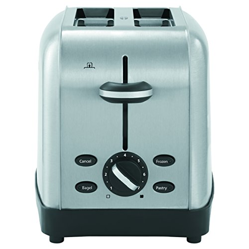 Oster TSSTTRWF2S-001 Brushed Stainless Steel 2-Slice Toaster