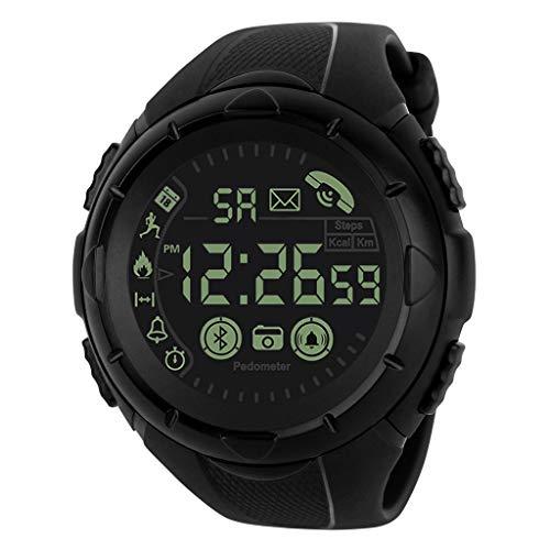 Fashion Men's Smart Watch Bluetooth Digital Sports Wrist Watch Waterproof