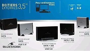Caja externa HDD 3.5 Bluestork SATA / IDE - USB 2.0: Bluestork: Amazon.es: Electrónica