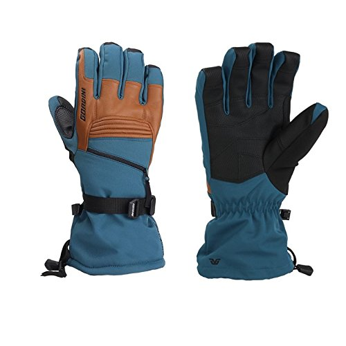 Gordini 4G1056 Men's Gtx Storm Trooper II Gloves, Legion Blue/Tan - M for $<!--$58.99-->