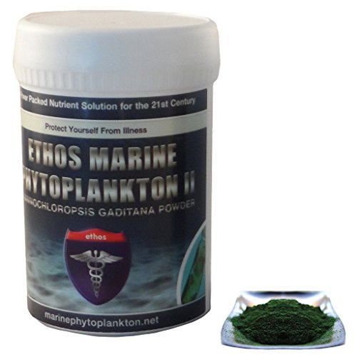 Ethos 100% Pure Organic Marine Phytoplankton 30g Freeze-dried Powder – The Lamborghini of Super-Nutrition™ For Sale