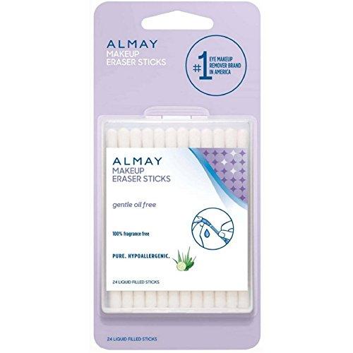 Almay Makeup Eraser Sticks, Liquid Filled Sticks 24 ea (Pack of 2)