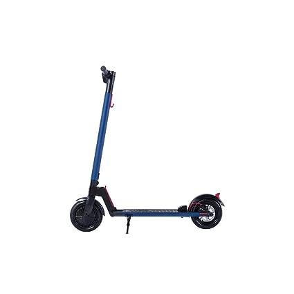 Smarthlon Scooter - Patinete eléctrico Plegable, Juventud Unisex, Velocidad máxima de 25 km/h, 20KM Rango eléctrico Kick Scooter con luz LED y ...