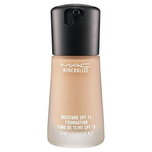 Finish Mac Mineralize Satin (MAC Mineralize Moisture Fluid SPF15 Foundation NC25)